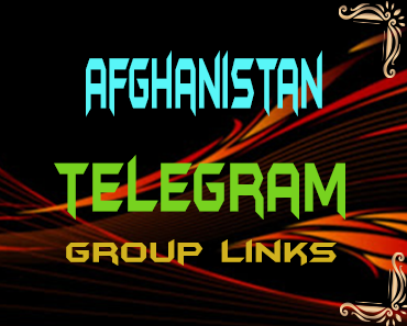 Afghanistan Telegram Group links list