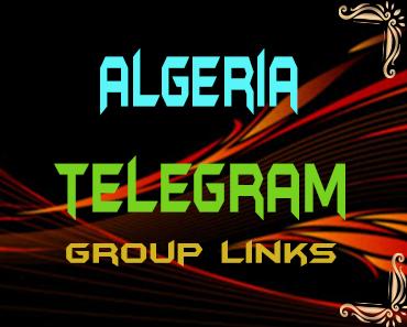 Algeria Telegram Group links list
