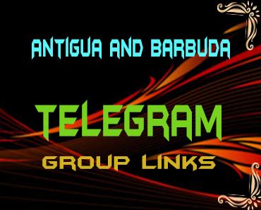 Antigua and Barbuda Telegram Group links list