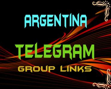 Argentina Telegram Group links list