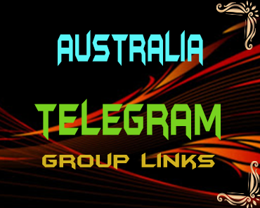 Australia Telegram Group links list