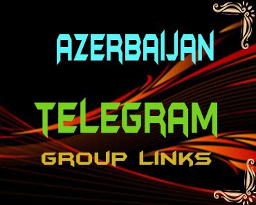 Azerbaijan Telegram Group links list