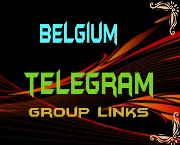 Belgium Telegram Group links list