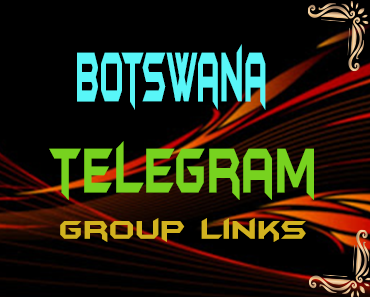 Botswana Telegram Group links list