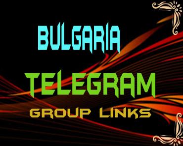 Bulgaria Telegram Group links list