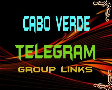 Cabo Verde Telegram Group links list