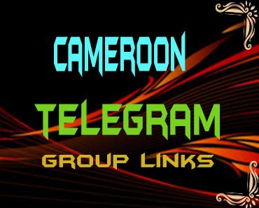 Cameroon Telegram Group links list