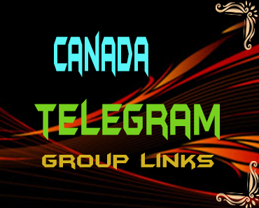 Canada Telegram Group links list
