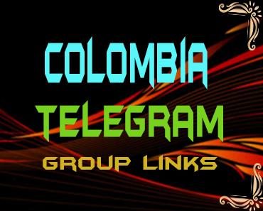 Colombia Telegram Group links list