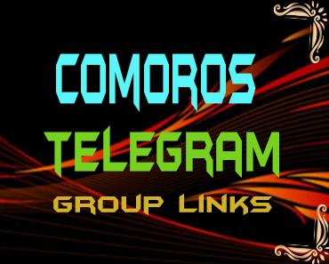 Comoros Telegram Group links list