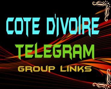 Cote d'Ivoire Telegram Group links list