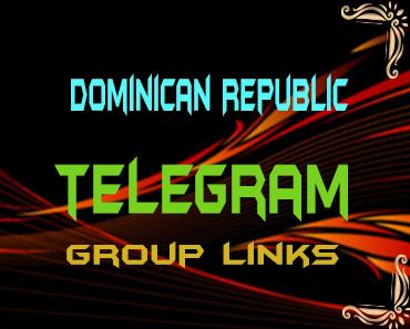 Dominican Republic Telegram Group links list