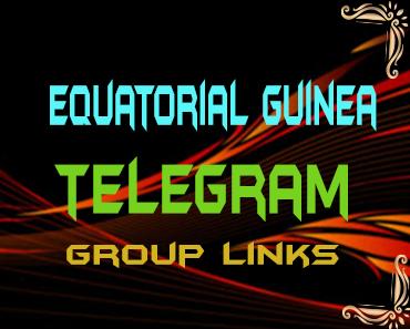 Equatorial Guinea Telegram Group links list