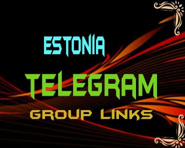Estonia Telegram Group links list