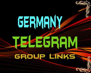 Germany Telegram Group links list