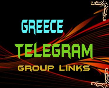 Greece Telegram Group links list