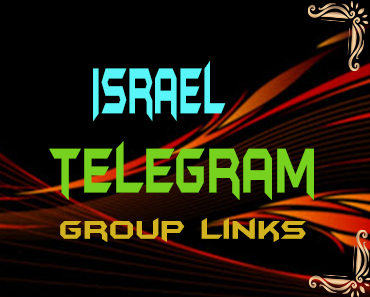 Israel Telegram Group links list
