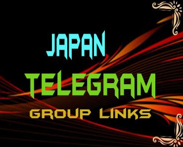 Japan Telegram Group links list