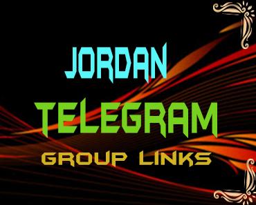 Jordan Telegram Group links list