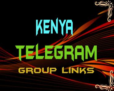 Kenya Telegram Group links list