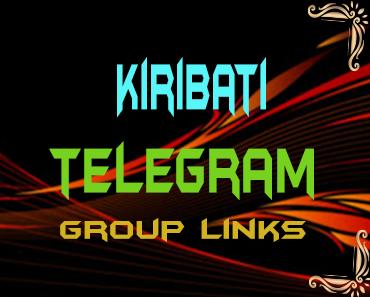 Kiribati Telegram Group links list