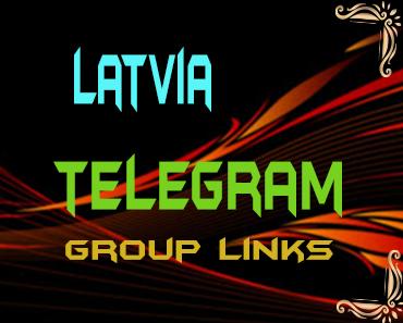 Latvia Telegram Group links list