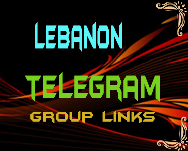 Lebanon Telegram Group links list