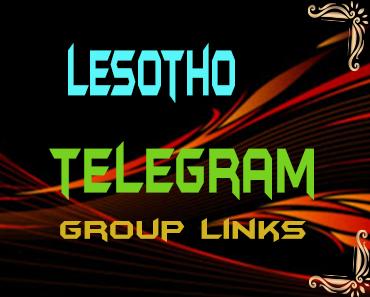 Lesotho Telegram Group links list