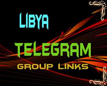 Libya Telegram Group links list