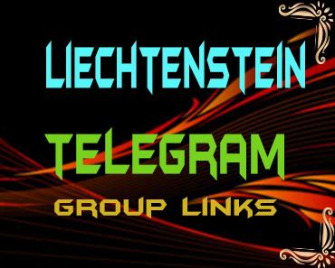 Liechtenstein Telegram Group links list