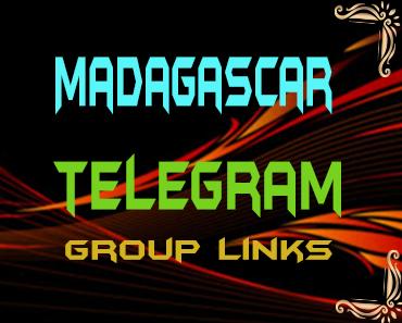 Madagascar Telegram Group links list