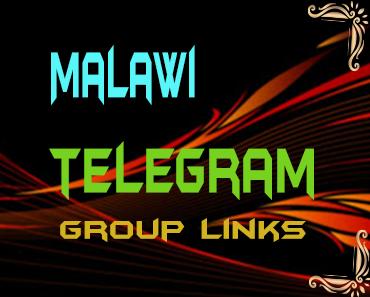 Malawi Telegram Group links list
