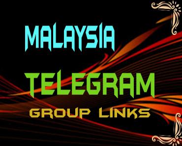 Malaysia Telegram Group links list