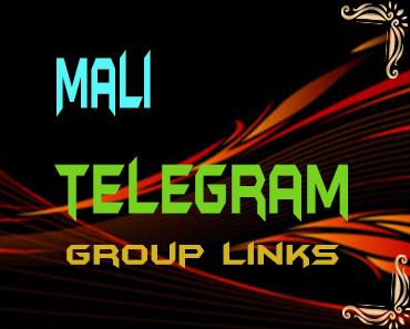Mali Telegram Group links list