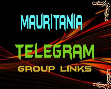 Mauritania Telegram Group links list