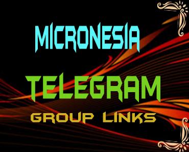 Micronesia Telegram Group links list
