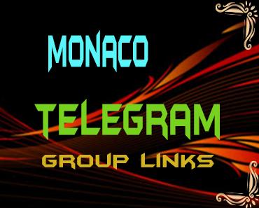 Monaco Telegram Group links list