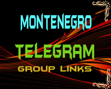 Montenegro Telegram Group links list