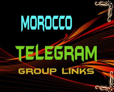 Morocco Telegram Group links list