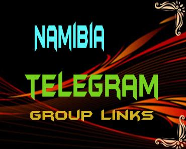 Namibia Telegram Group links list