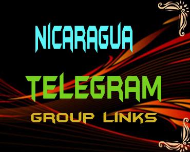 Nicaragua Telegram Group links list