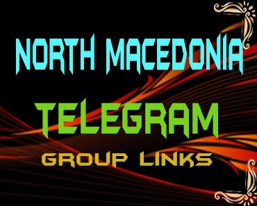 North Macedonia Telegram Group links list