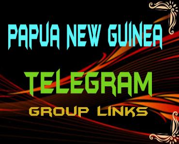 Papua New Guinea Telegram Group links list