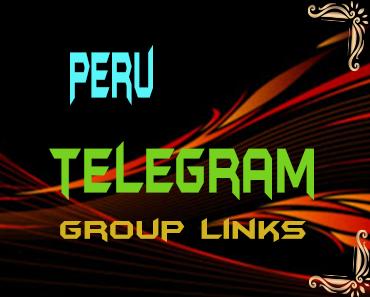Peru Telegram Group links list