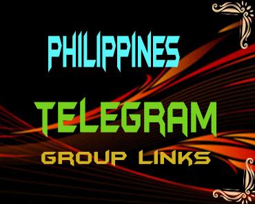 Philippines Telegram Group links list