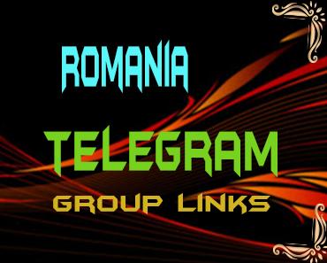 Romania Telegram Group links list