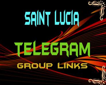 Saint Lucia Telegram Group links list