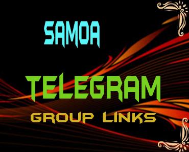 Samoa Telegram Group links list