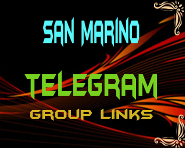 San Marino Telegram Group links list