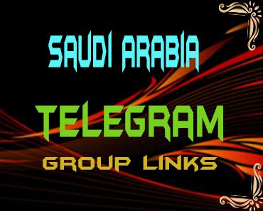 Saudi Arabia Telegram Group links list